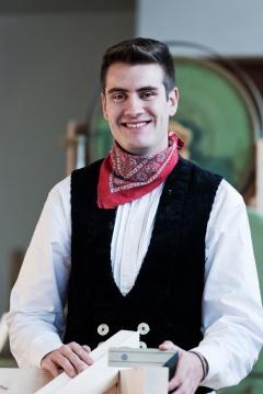 Moritz Abele, Architekturstudent