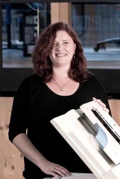 Corinna van Boxel, kaufmännische Mitarbeiterin